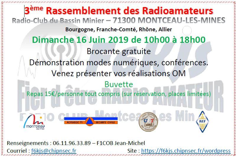 3ème Rassemblement de Radioamateurs de Bourgogne Franche-Comté